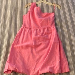 J.Crew Pink Solid Bridget Dress